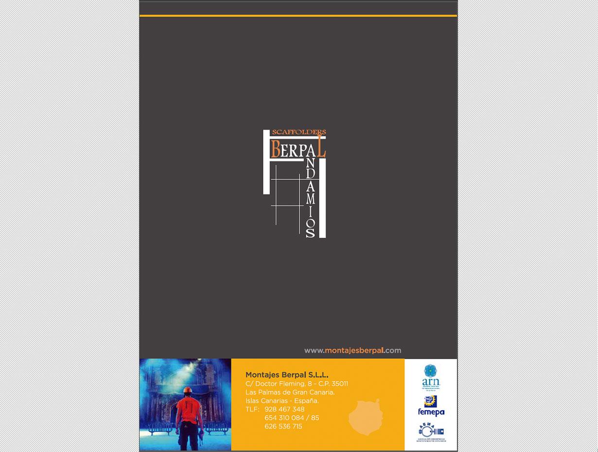 Diseño Editorial Montajes Berpal