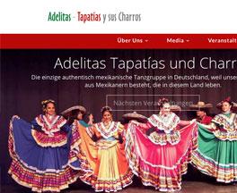 Desarrollo gráfico + CSS Adelitas Tapatías