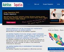 Desarrollo gráfico + HTML/CSS Adelitas Tapatías
