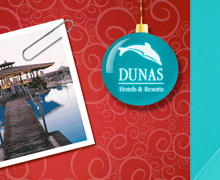 HTML + animación del Mailing Dunas Hotels & Resorts