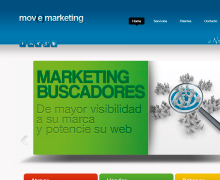 Desarrollo gráfico + HTML/CSS Mov(e)marketing