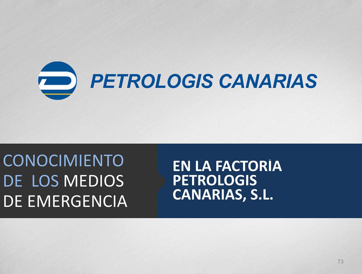 Presentación Petrologis Canarias