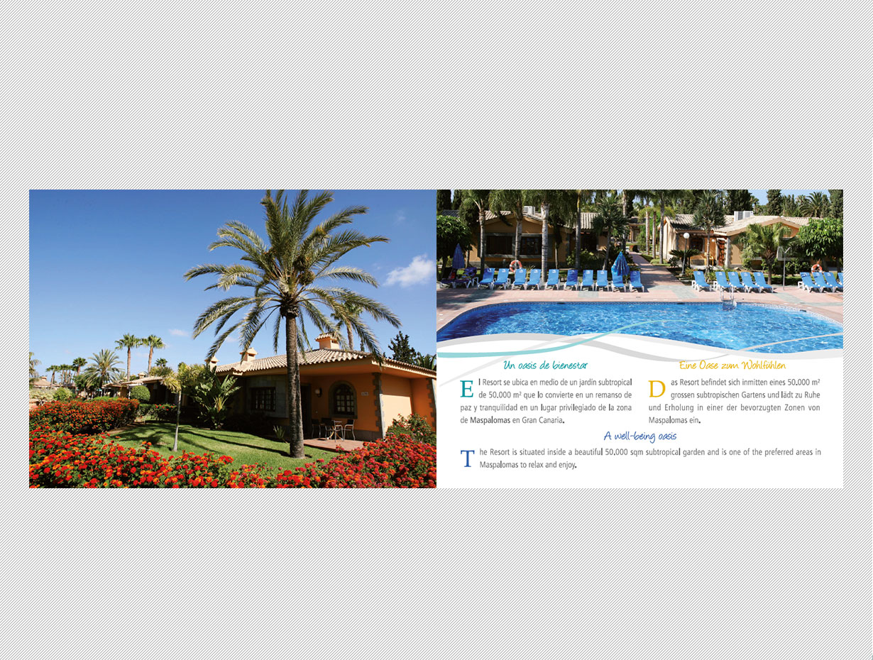 Folleto Dunas Suites & Villas