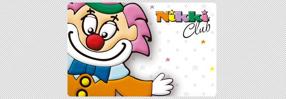 Tarjeta de fidelización Jugueterías Nikki
