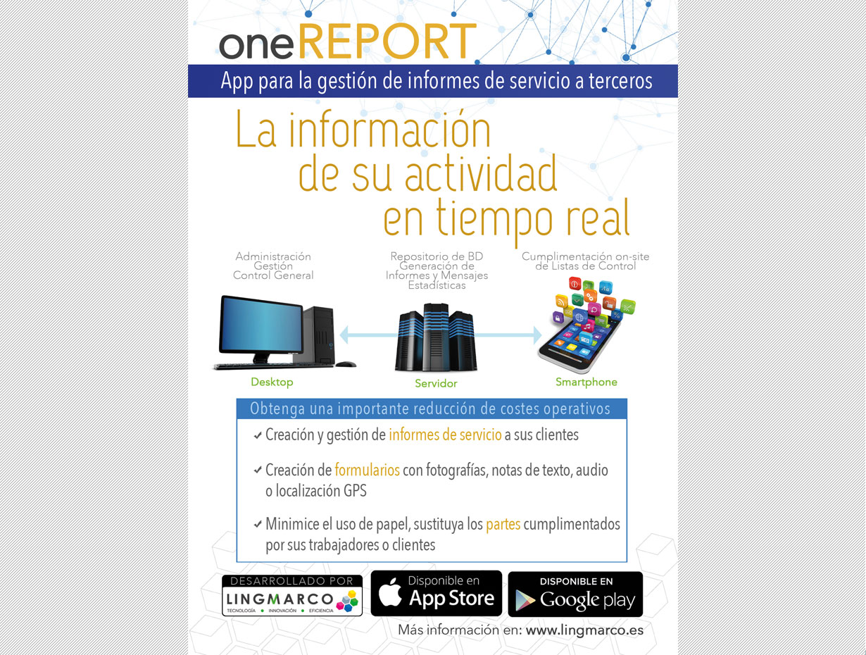Flyer oneREPORT