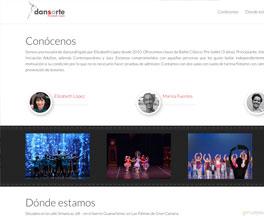Página web Dansarte.com