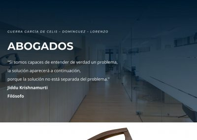 Despacho de Abogados Guerra García de Celis Domingo Lorenzo